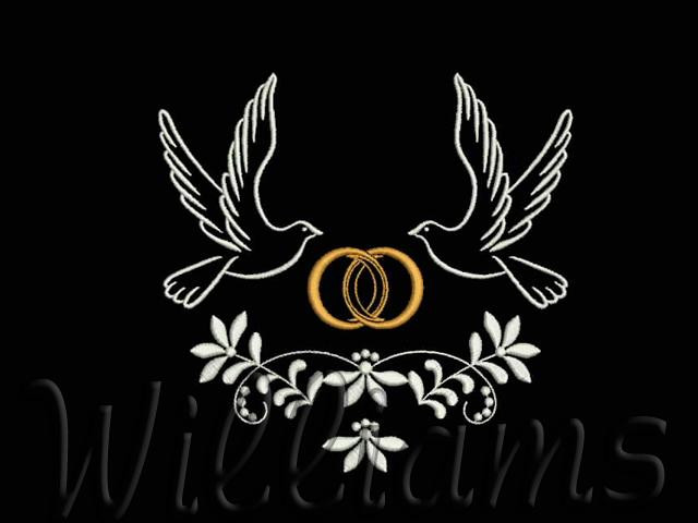 """Awesome """"wedding"""" Machine Embroidery Designs Set Wedding Embroidery Designs Of Wonderful 48 Photos Wedding Embroidery Designs"""