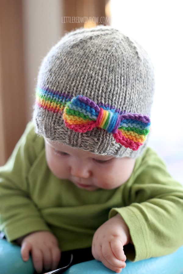 Awesome Rainbow Baby Hat Knitting Pattern Little Red Window Baby Beanie Knitting Pattern Of Innovative 49 Pics Baby Beanie Knitting Pattern