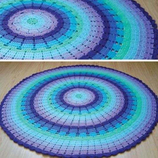 Awesome Rainbow Ripple Crochet Blanket Pattern Crochet Circle Blanket Pattern Of Brilliant 42 Pictures Crochet Circle Blanket Pattern