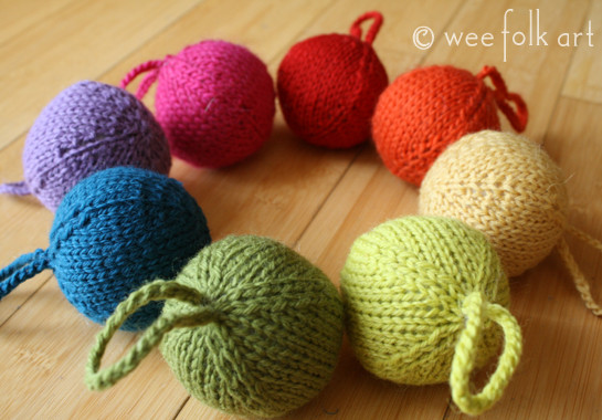 Awesome Rainbow Yarn Christmas ornaments Wee Folk Art Knitted Christmas ornaments Of Incredible 50 Models Knitted Christmas ornaments