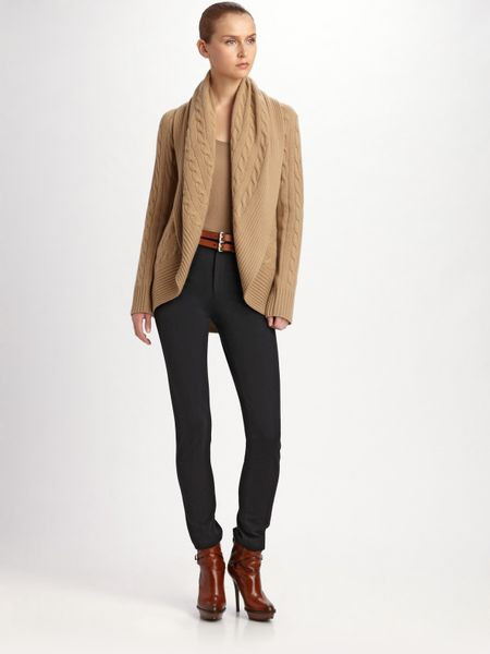 Awesome Ralph Lauren Black Label Cashmere Circle Cardigan In Brown Circle Cardigan Of Adorable 41 Ideas Circle Cardigan