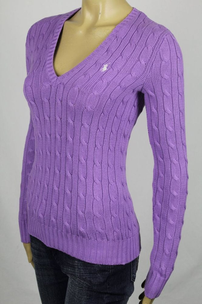 Awesome Ralph Lauren Purple Cable Knit V Neck Sweater White Pony V Neck Cable Knit Sweater Of Great 44 Pictures V Neck Cable Knit Sweater
