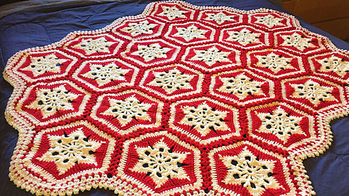 Awesome Ravelry Scandinavian Snowflake Afghan Pattern by Michael Crochet Crowd Baby Blanket Of Brilliant 40 Photos Crochet Crowd Baby Blanket