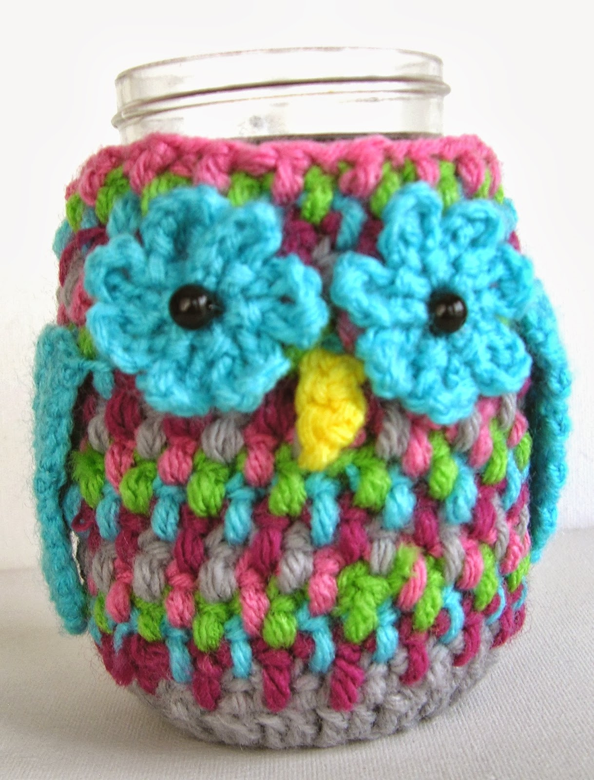 Awesome Reciprocitycrafts Crochet Owl Tin Can Cozy Can Cozy Of Wonderful 48 Pictures Can Cozy