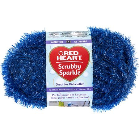 Awesome Red Heart Scrubby Sparkle Yarn Blueberry Walmart Red Heart Scrubby Of Unique 48 Pictures Red Heart Scrubby