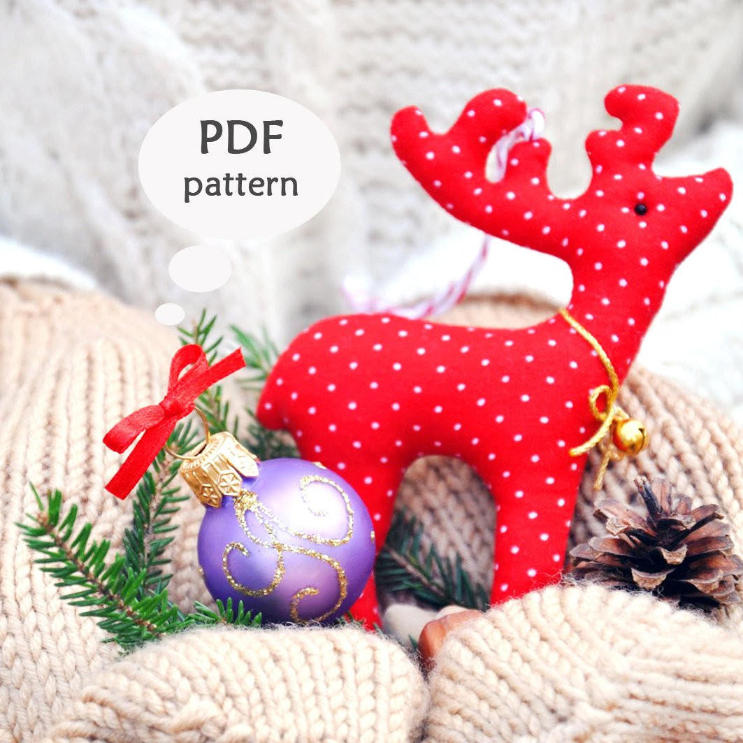 Awesome Reindeer Sewing Pattern Christmas Sewing Projects Deer Christmas Sewing Patterns Of Contemporary 43 Images Christmas Sewing Patterns