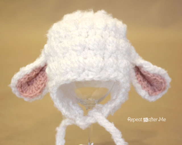 Awesome Repeat Crafter Me Crochet Lamb Hat Pattern Lamb Hat Of Awesome 46 Images Lamb Hat