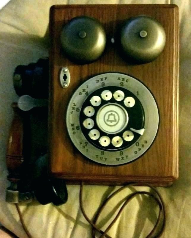 Awesome Retro Wall Phones Interior Pottery Barn Phones Black Wall Antique Wall Phones for Sale Of Brilliant 40 Pics Antique Wall Phones for Sale