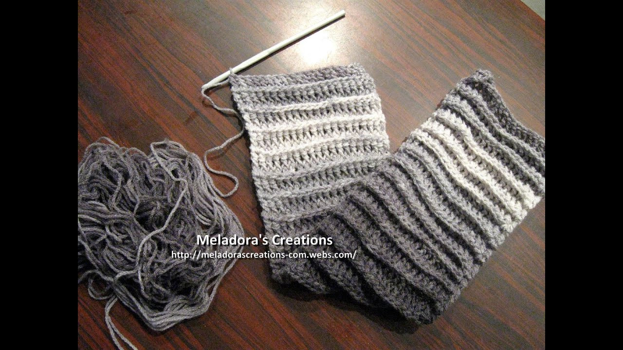 Awesome Riptide Scarf Crochet Tutorial Good Scarf for Men too Crochet Scarf Youtube Of Attractive 40 Pictures Crochet Scarf Youtube