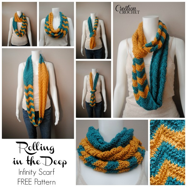 Awesome Rolling In the Deep Cre8tion Crochet Crochet Scarf Patterns Youtube Of Contemporary 47 Ideas Crochet Scarf Patterns Youtube