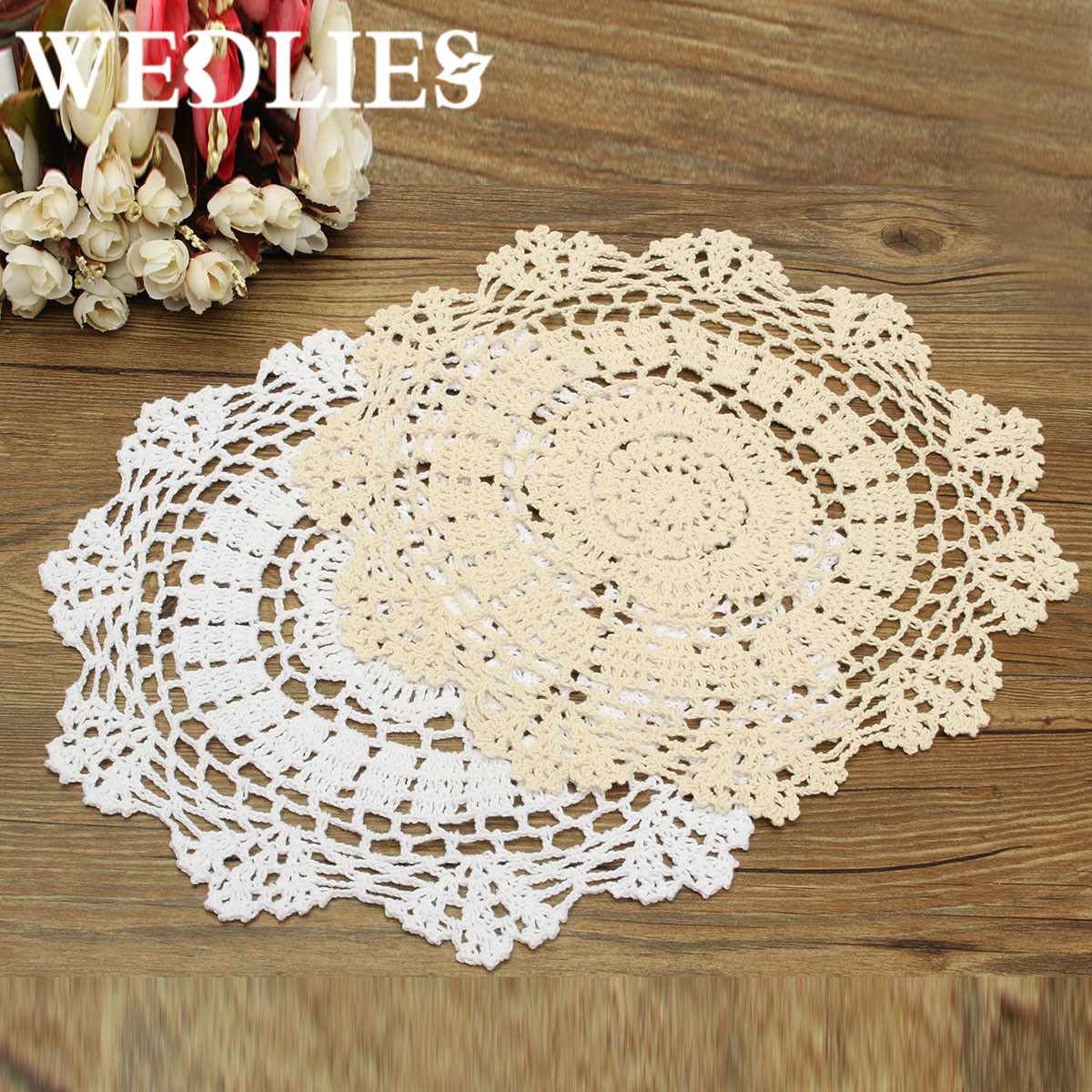 Awesome Round Retro Crochet Lace Doilies Floral Placemat Coasters Crochet Shop Of Lovely 48 Images Crochet Shop