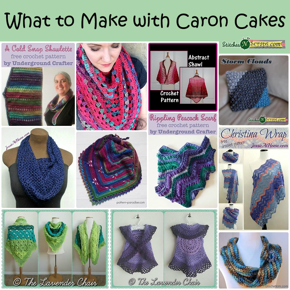 Round Up What to Make with Caron Cakes Stitches n Scraps