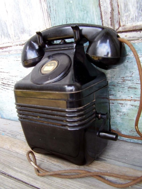 Awesome Sale Leich Beehive Phone Magneto Bakelite Wall by Missufo Antique Wall Phones for Sale Of Brilliant 40 Pics Antique Wall Phones for Sale