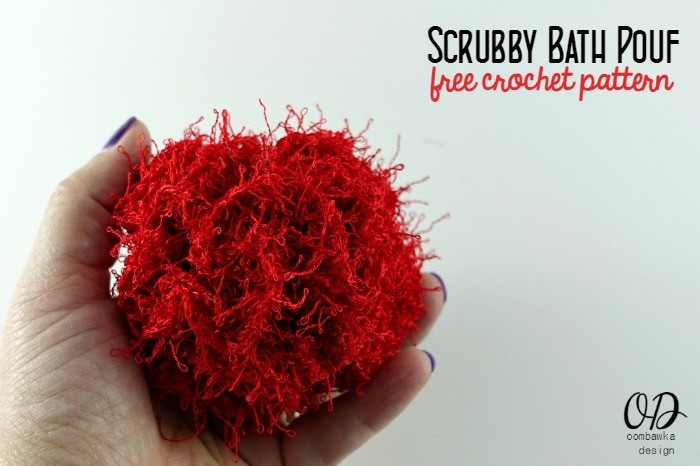 Awesome Scrubby Bath Pouf Free Pattern • Oombawka Design Crochet Scrubby Yarn Patterns Of Adorable 47 Images Scrubby Yarn Patterns