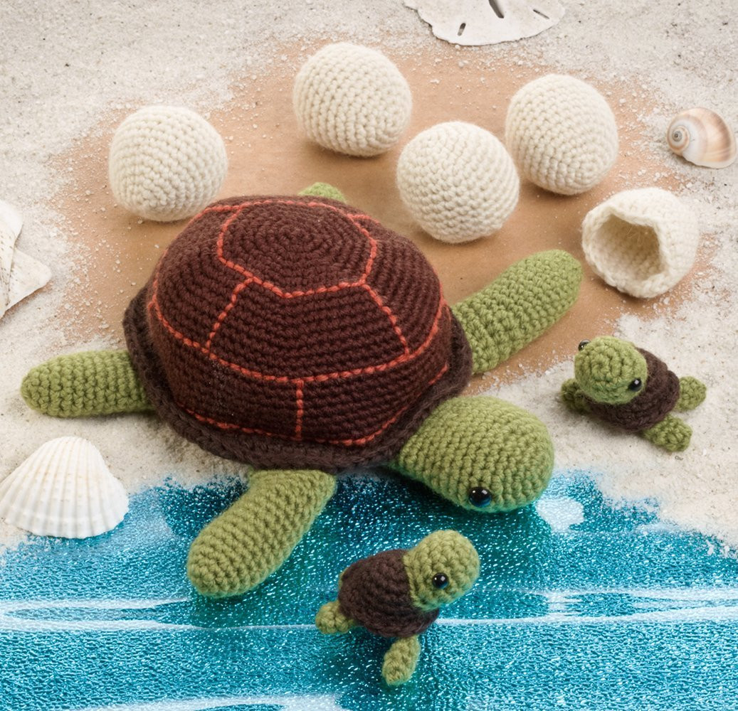 Awesome Sea Creatures Amigurumi Crochet Pattern Books – Crocheted Crochet Turtle Of Innovative 48 Images Crochet Turtle