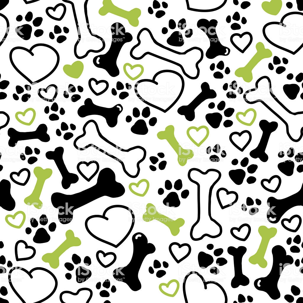 Awesome Seamless Flat Hand Drawn Dog Pattern Stock Vector Art Dog Pattern Of Attractive 45 Photos Dog Pattern