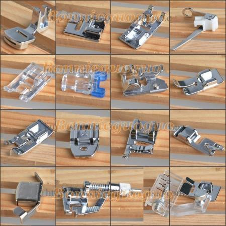 Awesome Set 15pcs Presser Foot Feet Brother Singer Janome toyota Brother Sewing Machine Feet Of Top 45 Photos Brother Sewing Machine Feet