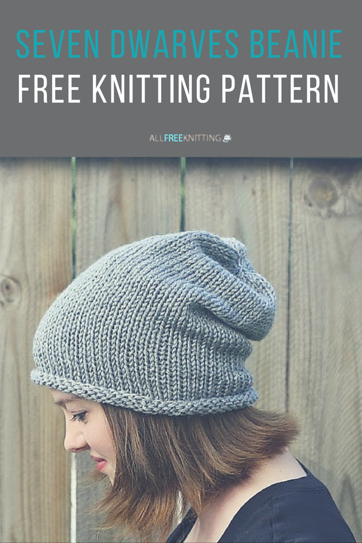 Awesome Seven Dwarves Beanie Easy Knitting Patterns for Beginners Of Wonderful 46 Pics Easy Knitting Patterns for Beginners