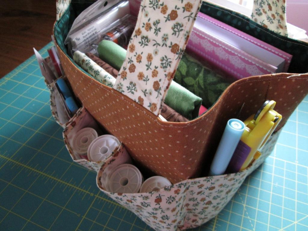 Awesome Sewing Project Travel tote Bag – Free Pdf Pattern From Project Bag Pattern Of Incredible 47 Models Project Bag Pattern