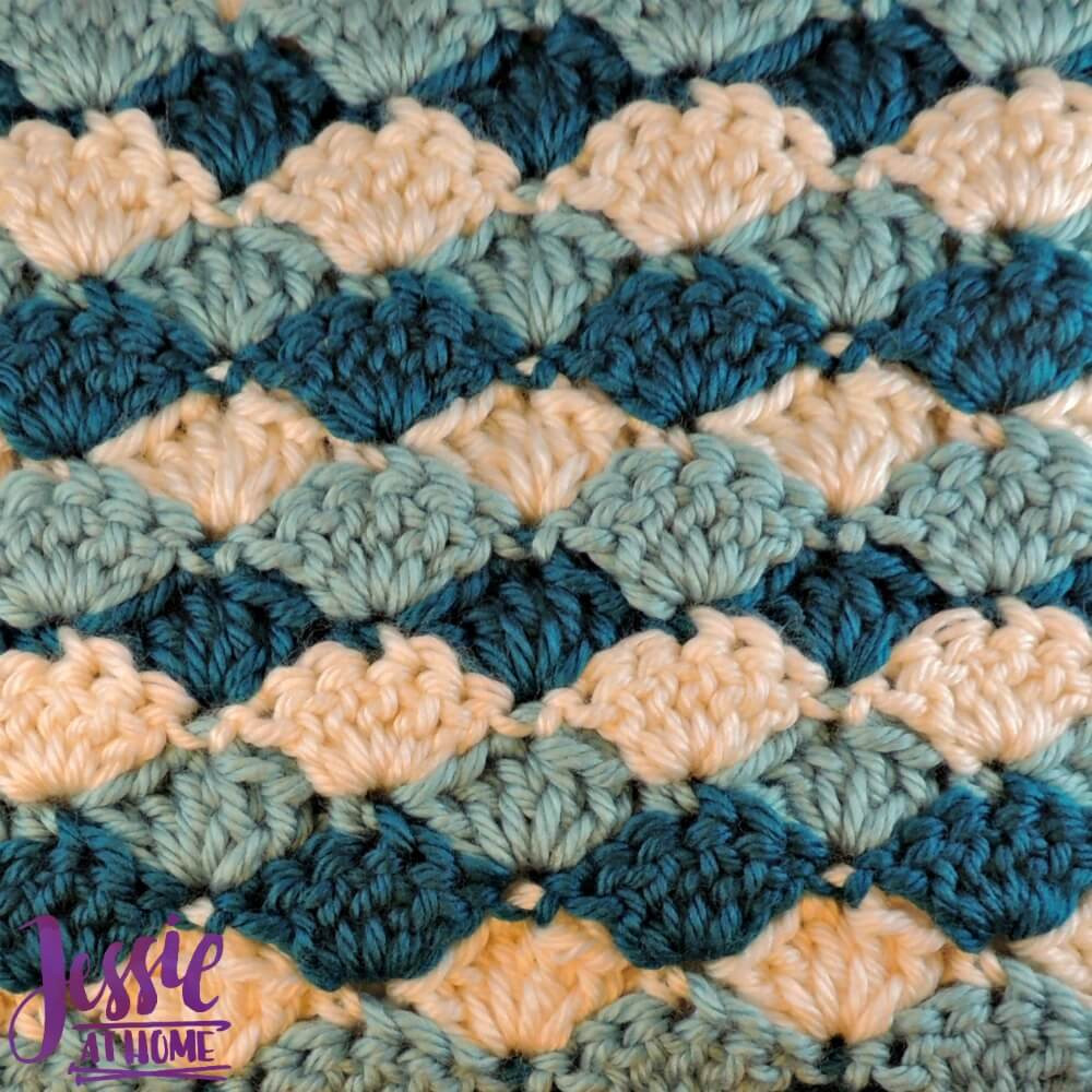 Awesome Shell Stitch Baby Blanket Shell Pattern Crochet Baby Blanket Of Beautiful 41 Pics Shell Pattern Crochet Baby Blanket