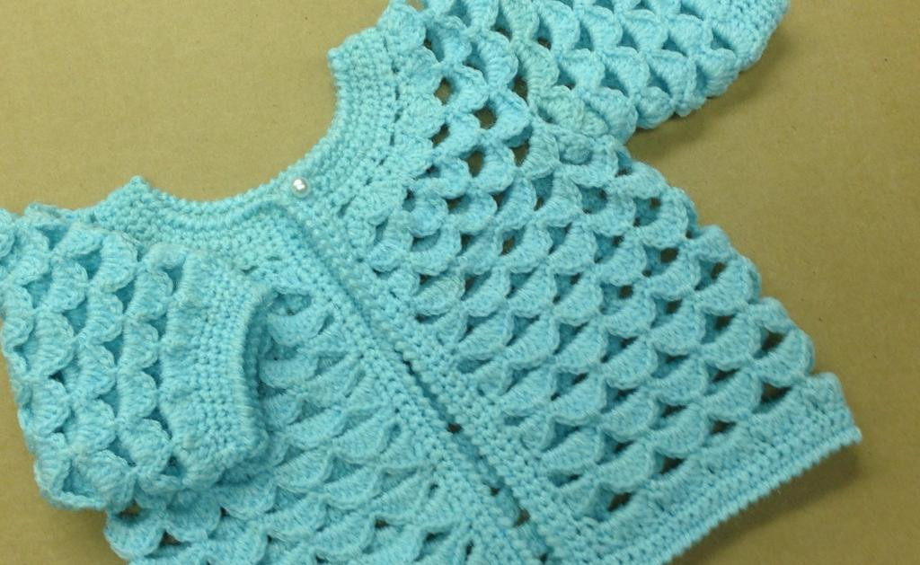 Awesome Shell Sweater Baby Crochet Pattern Sweater Vest Crochet Baby Sweater for Beginners Of Wonderful 41 Pictures Crochet Baby Sweater for Beginners