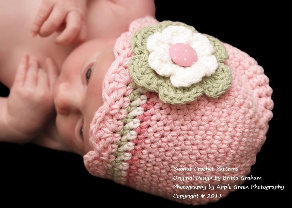 Awesome Shell Trim Crochet Baby Hat by Britta Craftsy Crochet Infant Hat Of Awesome 46 Ideas Crochet Infant Hat