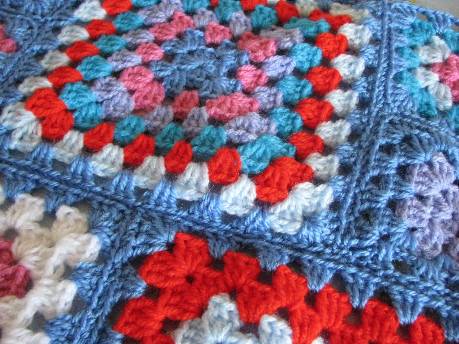 Awesome Shortbread & Ginger Bright Crochet Granny Squares Crochet Squares together Of Lovely 43 Ideas Crochet Squares together