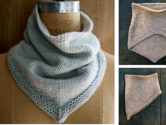 Awesome Simple Knitted Bandana Cowl [free Knitting Pattern] Knit Cowl Scarf Of Gorgeous 41 Pictures Knit Cowl Scarf