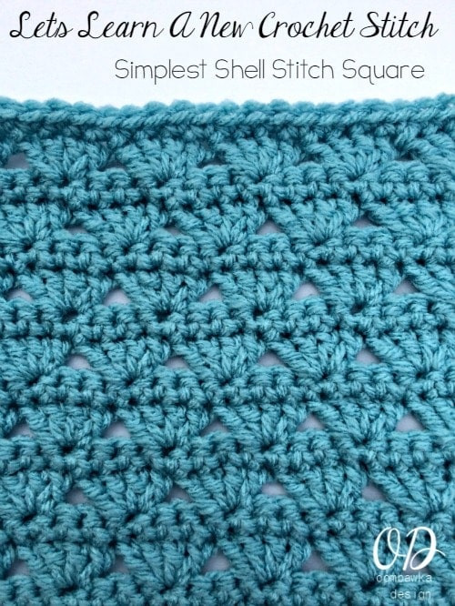 Awesome Simplest Shell Stitch Square Pattern and Tutorial Square Crochet Stitch Of Lovely 49 Photos Square Crochet Stitch
