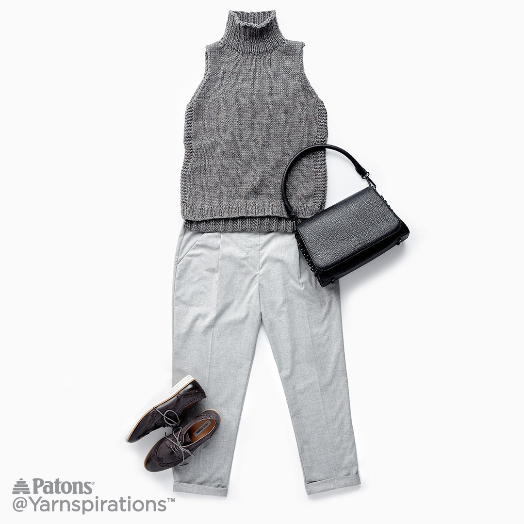 Awesome Sleeveless Knit Turtleneck Knit Pattern Patons Alpaca Blend Of Attractive 44 Images Patons Alpaca Blend