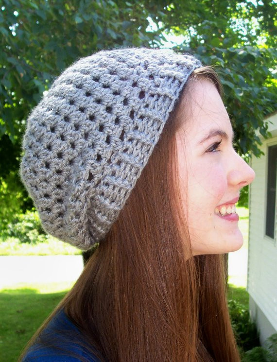 Awesome Slight Slouch Hat Pdf Crochet Pattern Adult Slouchy Beanie Crochet Hat Patterns for Adults Of Fresh Give A Hoot Crocheted Hat Free Pattern for Kids and Adult Crochet Hat Patterns for Adults