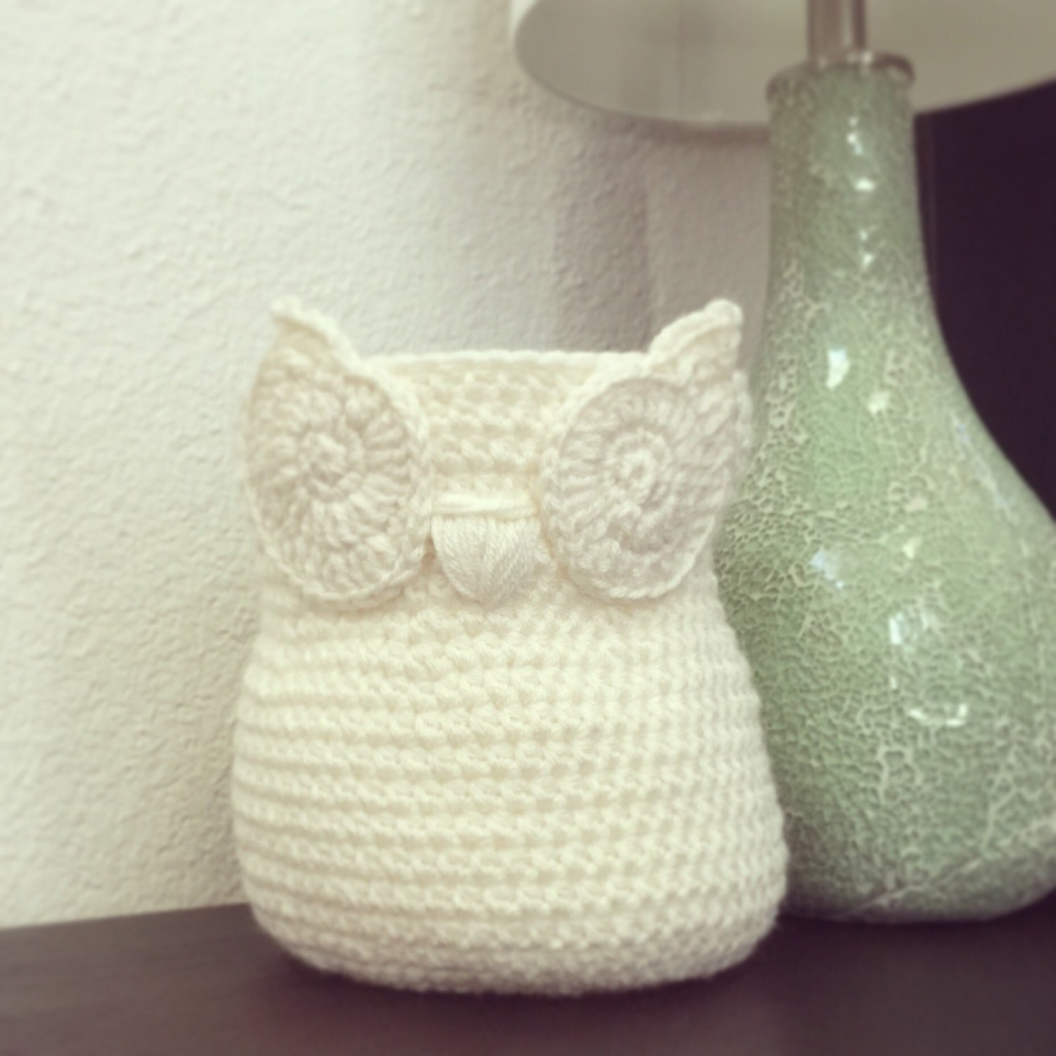 Awesome Small Chic Handmade Crochet Owl Basket Home Decor by Crochet Owl Basket Of Brilliant 47 Photos Crochet Owl Basket