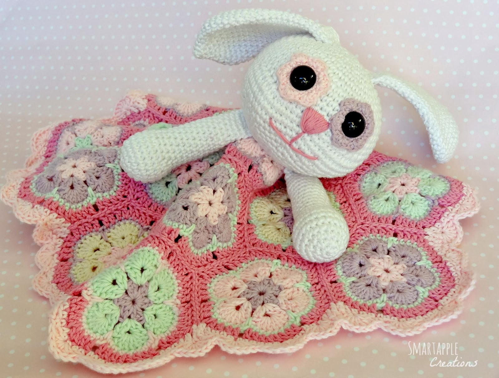 Awesome Smartapple Creations Amigurumi and Crochet Crochet Crochet Lovey Blanket Of Attractive 46 Pics Crochet Lovey Blanket