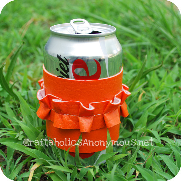 Awesome soda Can Cozy Craft Tutorial Can Cozy Of Wonderful 48 Pictures Can Cozy