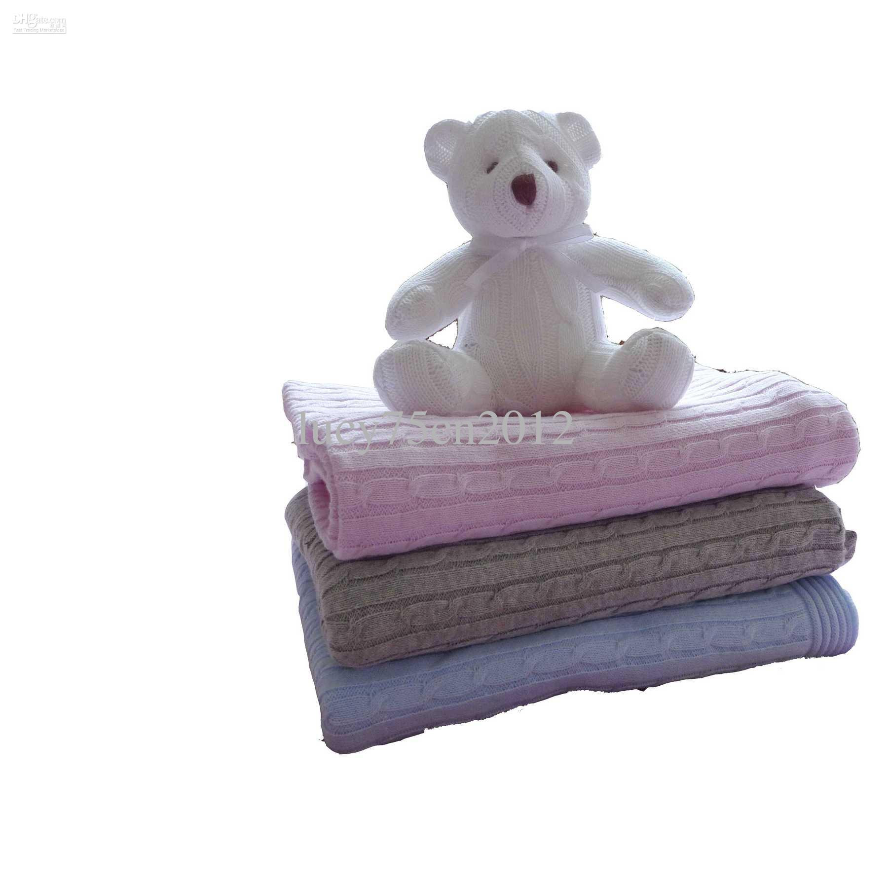 Awesome soft Cotton Knit Cable Baby Blanket Cheap forter Sets Cotton Knit Baby Blanket Of Awesome 41 Models Cotton Knit Baby Blanket