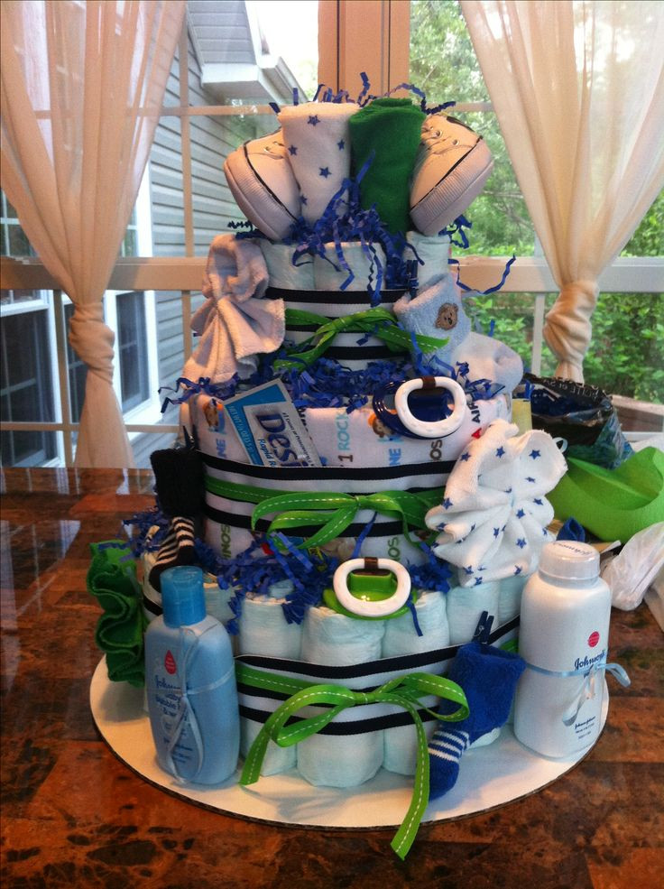Southern Blue Celebrations Diaper Cakes for BOYS