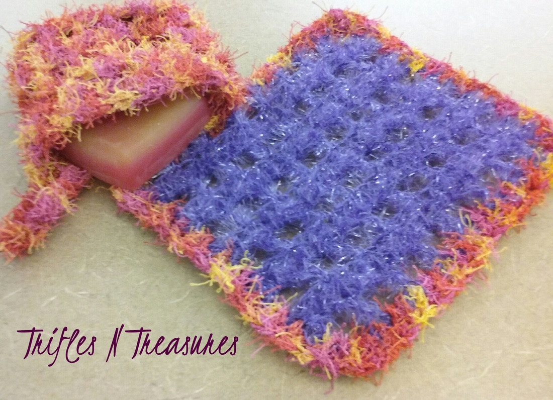 Awesome Sparkling Squares Spa Set Free Pattern Trifles & Treasures Red Heart Scrubby Sparkle Patterns Of Marvelous 43 Pictures Red Heart Scrubby Sparkle Patterns