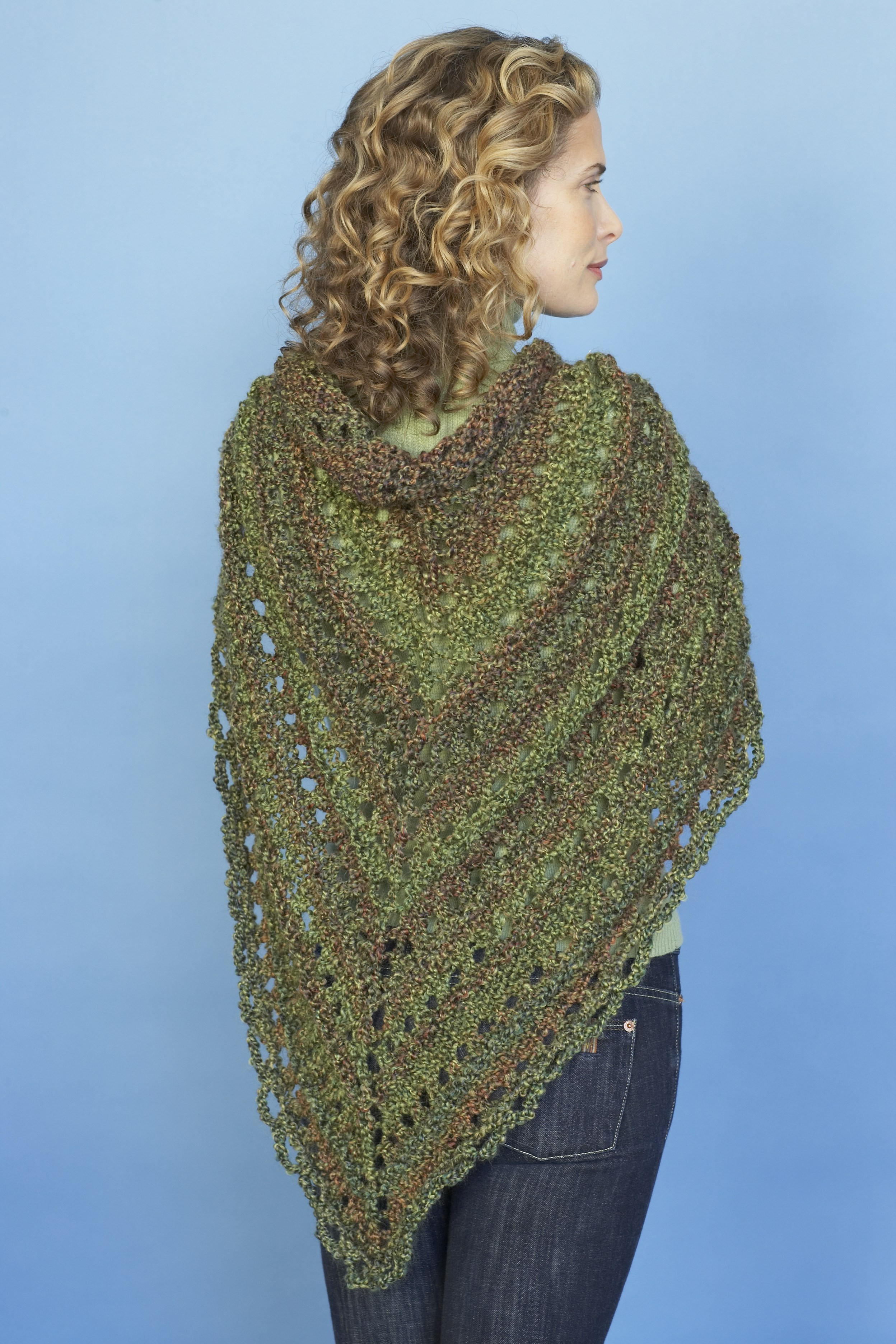 Awesome Splendid Triangle Shawl In Lion Brand Homespun Ad Lion Brand Crochet Patterns Of New 46 Ideas Lion Brand Crochet Patterns