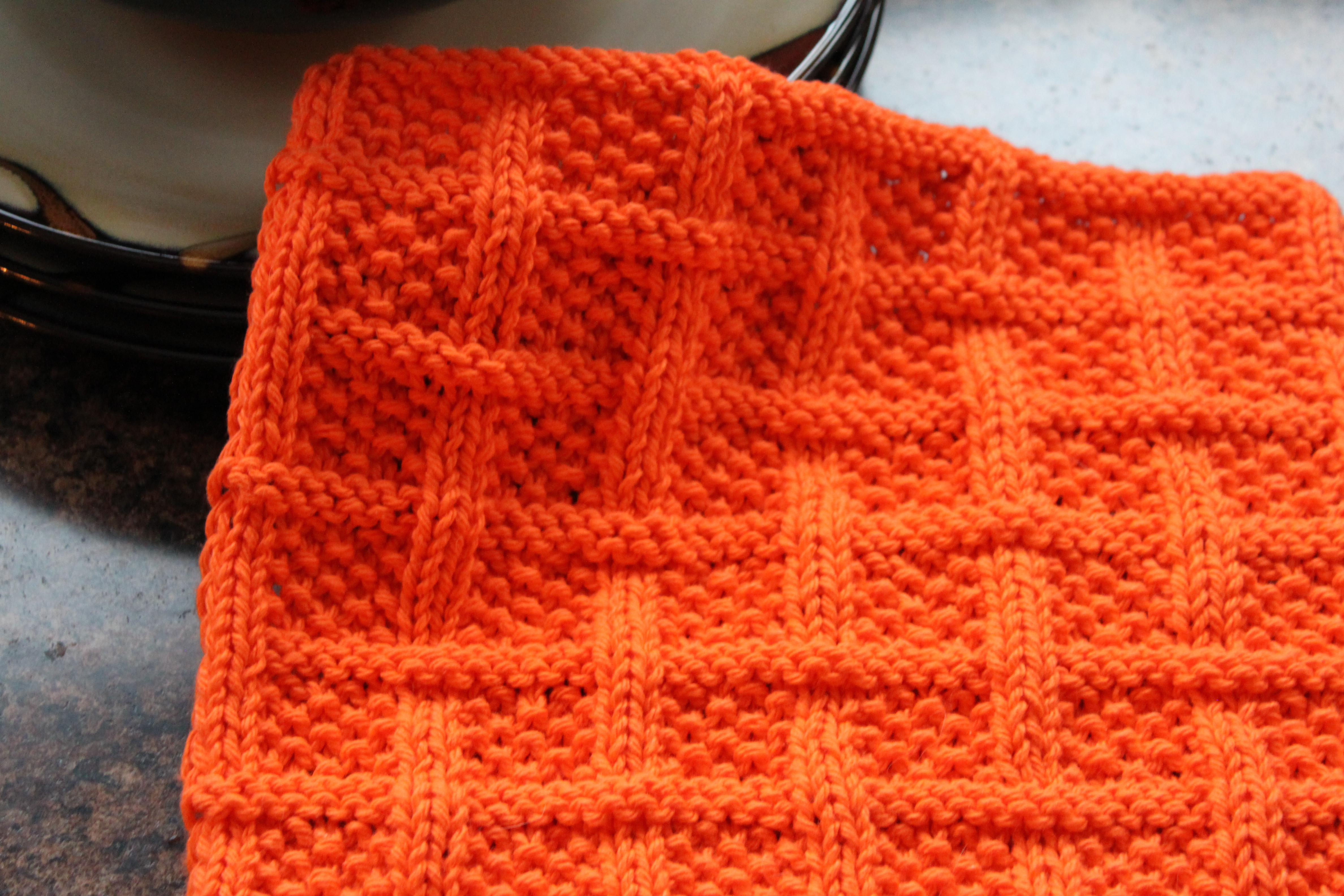 Awesome Square Lattice Dishcloth Knitted Square Patterns Of Lovely 50 Models Knitted Square Patterns