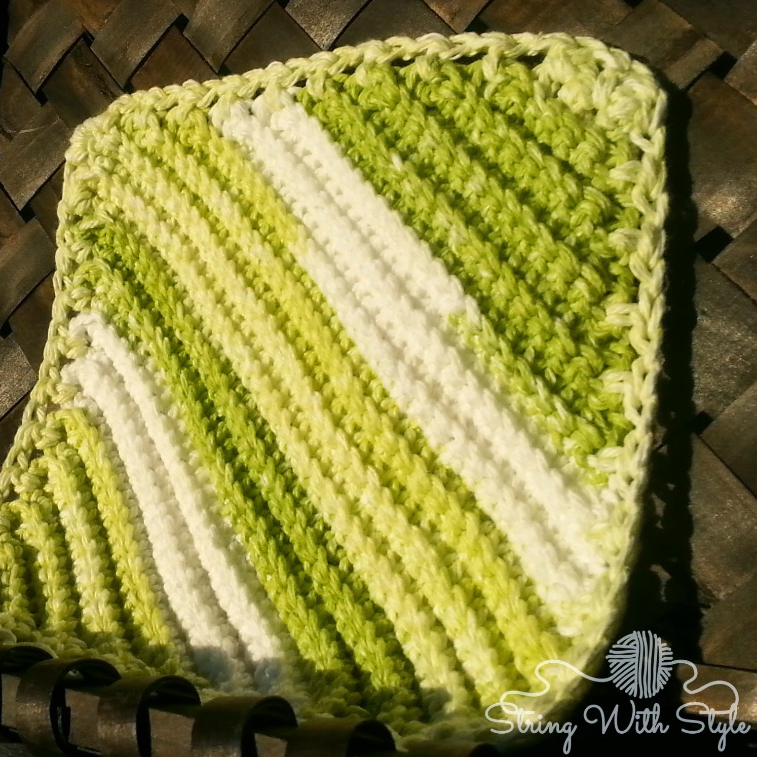 Awesome String with Style Knit Me Knot Dishcloth Knit Scrubby Patterns Of Top 40 Photos Knit Scrubby Patterns