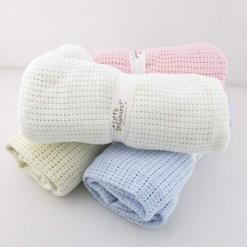 Awesome Summer Autumn Baby Blanket Newborn Swaddle Wrap Crochet Cotton Knit Baby Blanket Of Awesome 41 Models Cotton Knit Baby Blanket