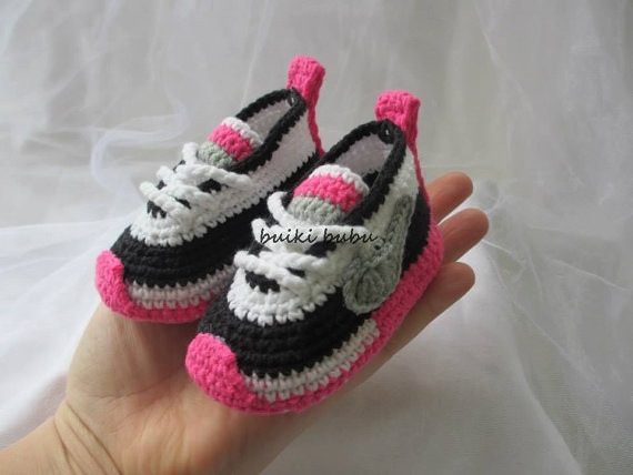 Awesome Super Stylish Nike Inspired Crochet Baby Booties Crochet Converse Booties Of Innovative 41 Models Crochet Converse Booties