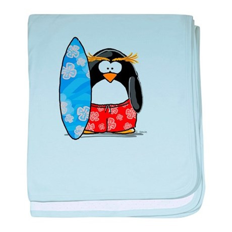 Awesome Surfing Macaroni Penguin Baby Blanket by Lilpenguinshop Penguin Baby Blanket Of Amazing 48 Ideas Penguin Baby Blanket