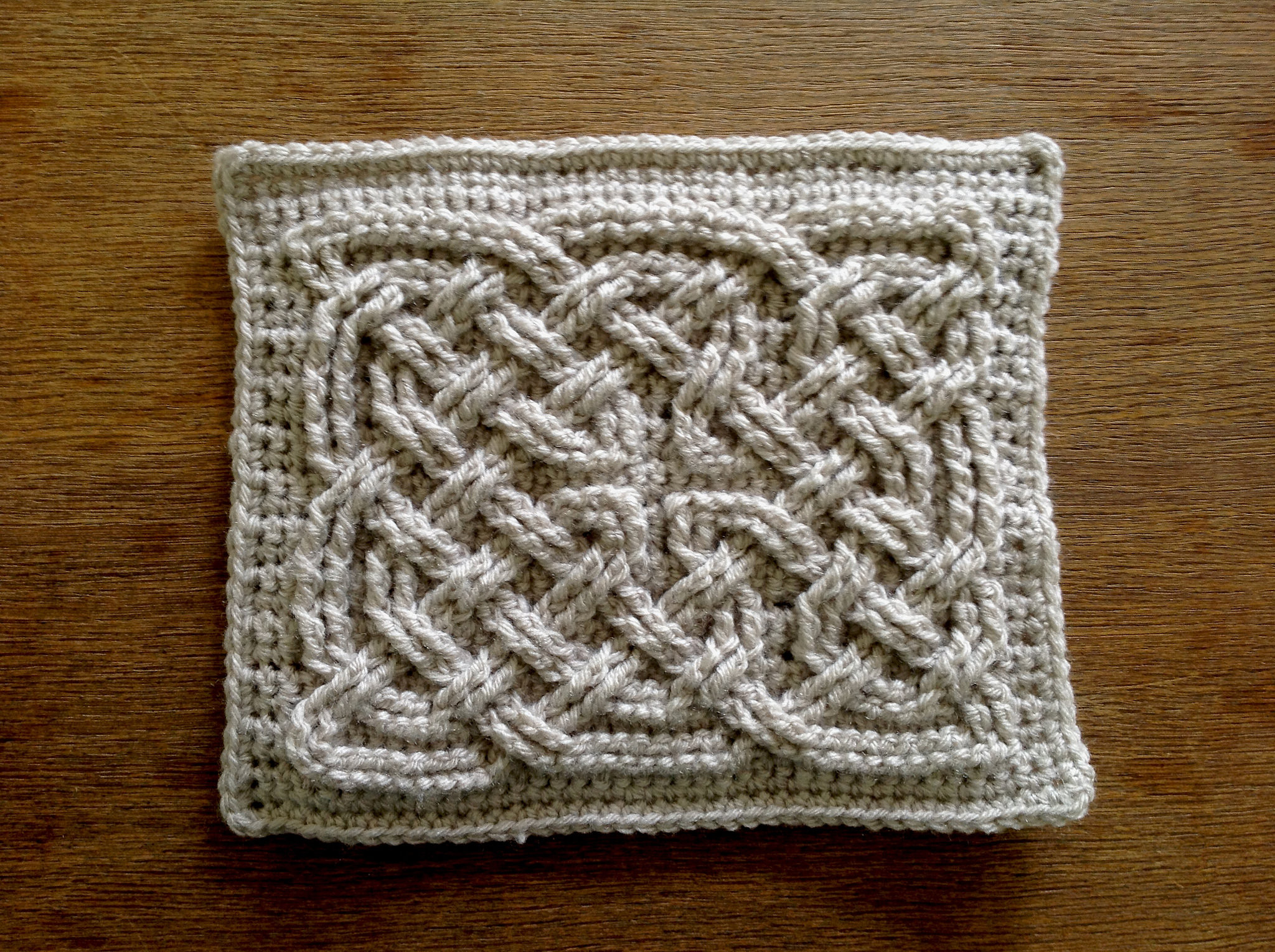 Awesome Suvi S Crochet Book Of Kells Celtic Square Knot Square Crochet Stitch Of Lovely 49 Photos Square Crochet Stitch