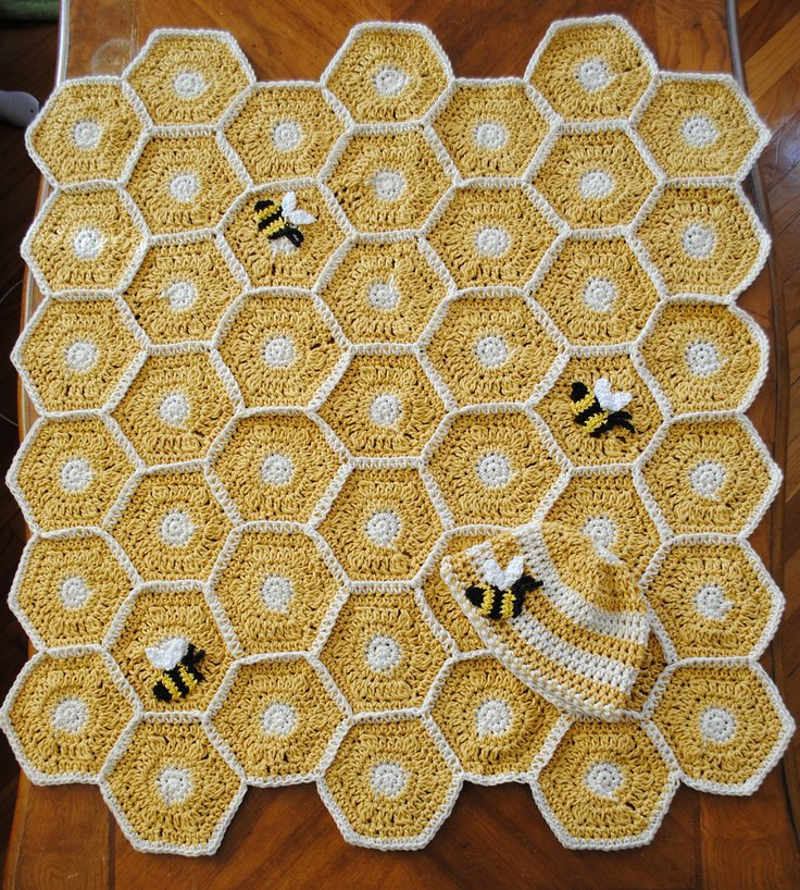 Awesome Sweet as Honey Baby Blanket Set with Bee Applique Pattern Baby Bee Yarn Crochet Patterns Of Amazing 49 Photos Baby Bee Yarn Crochet Patterns