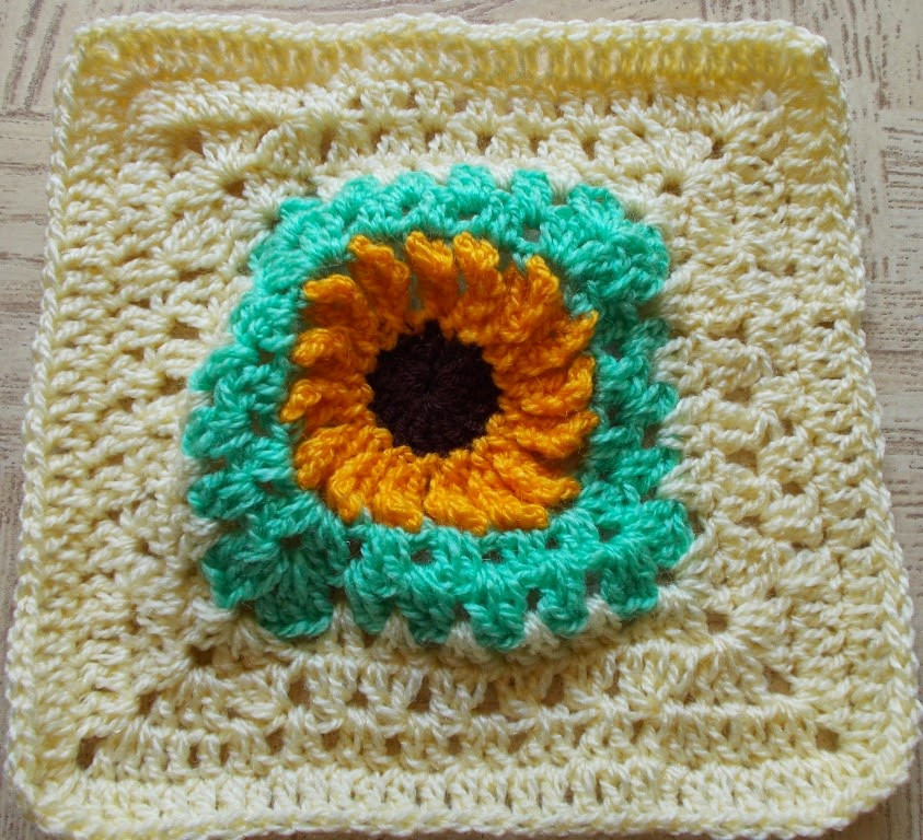 Awesome Sweet Nothings Crochet 21 Flower Granny Squares Crochet Sunflower Granny Square Of Delightful 41 Images Crochet Sunflower Granny Square