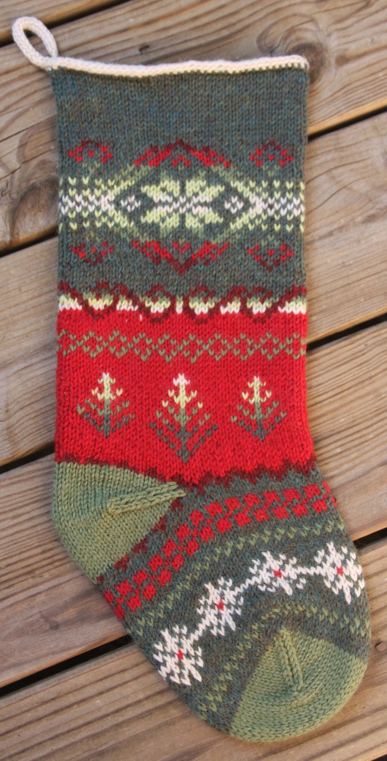 Awesome Tannenbaum Christmas Stocking Knit Pattern Pdf From Knit Stocking Pattern Of Attractive 47 Pictures Knit Stocking Pattern