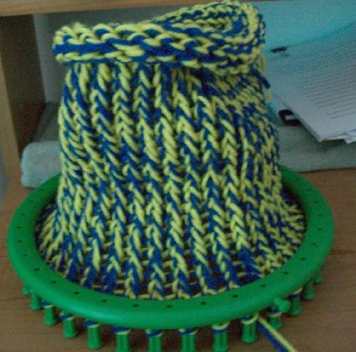 Awesome the Crafty Princess Diaries Loom Knitting Making A Hat On A Loom Of Attractive 43 Pics Making A Hat On A Loom