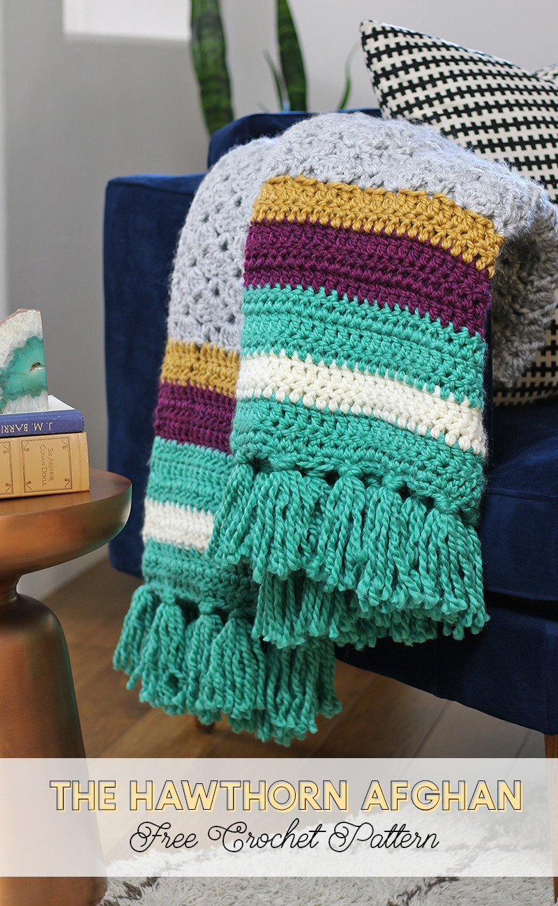 Awesome the Hawthorn Afghan Free Crochet Afghan Pattern Persia Lou Afghan Crochet Youtube Of Luxury 40 Pictures Afghan Crochet Youtube
