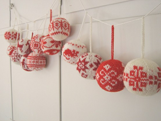 Awesome the Knitbitch Knitting Christmas Baubles Knitted Christmas ornaments Of Incredible 50 Models Knitted Christmas ornaments